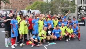 San Francisco and Sacramento Mohawk Street Soccer teams at the 1st West Coast Cup.